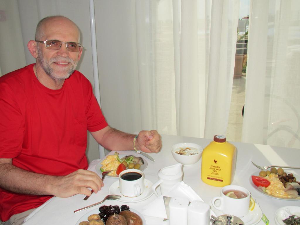 Завтрак в «Лайтхаус Гольф & СПА Ризорт