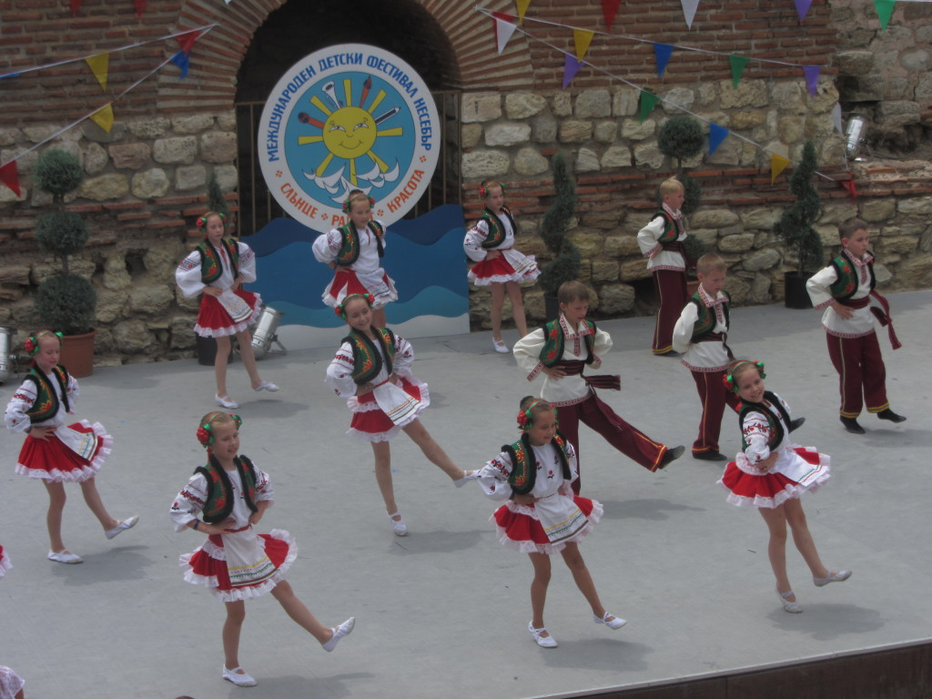 Детский фестиваль в г.Несебр