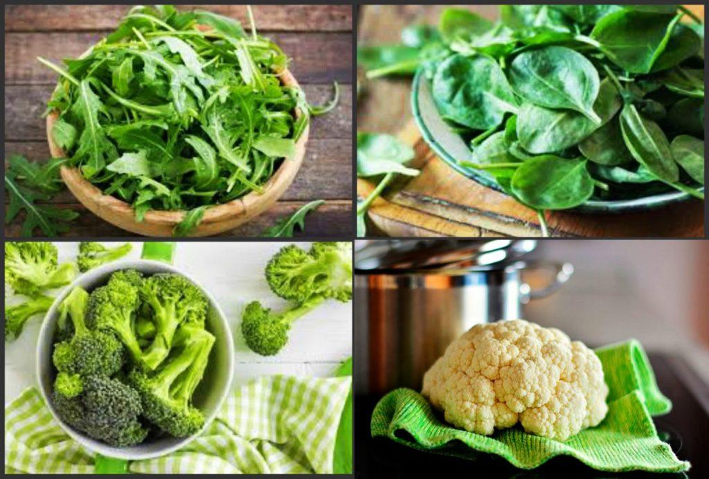 низкокалорийные овощи